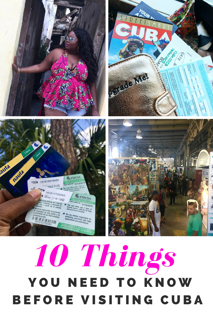Things You Need To Know Before Visiting Cuba Travel Pinterest - Cuba vacation 10 things to know before you take off