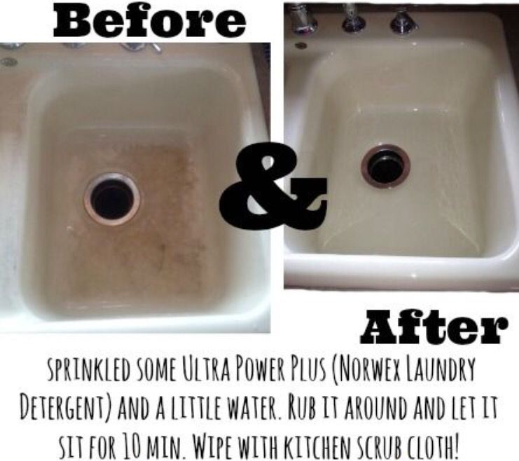 Charmant White Porcelain Sink Before And After