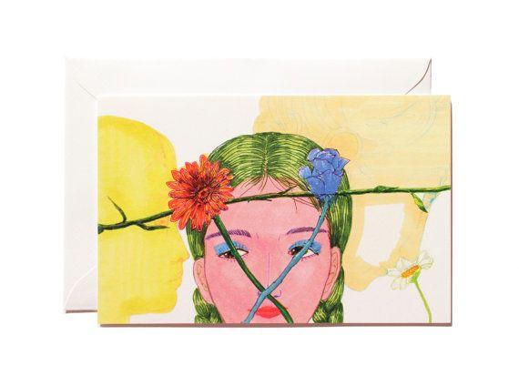 Fragrance-Art print-Postcard by Pionara on Etsy