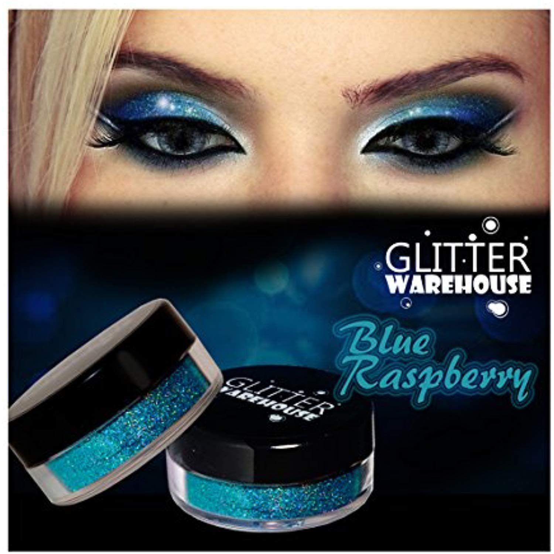 GlitterWarehouse Blue Raspberry Holographic Cosmetic Loose