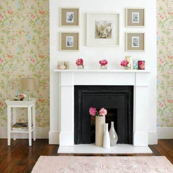 Stunning Unused Fireplace Ideas Create Artistic Look: Decoration ...