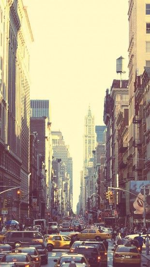 Beautiful Streets Of New York City Theiphonewalls City