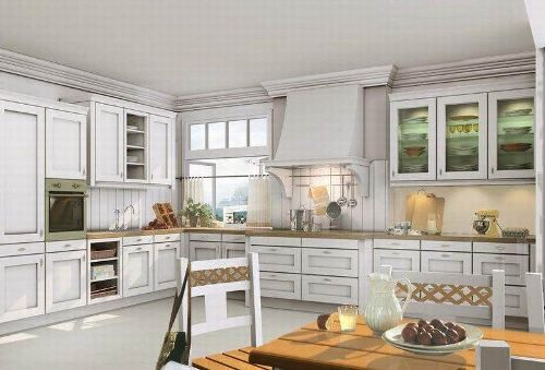 White Oak Kitchen Cabinets In Traditional Kitchen