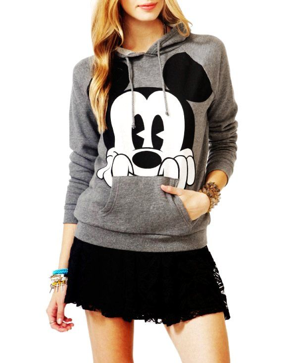 57298d88f906 Mickey Mouse Hoodies For Women - Cute Hoodies For Women