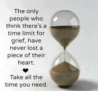 Image result for there is no time limit on grief