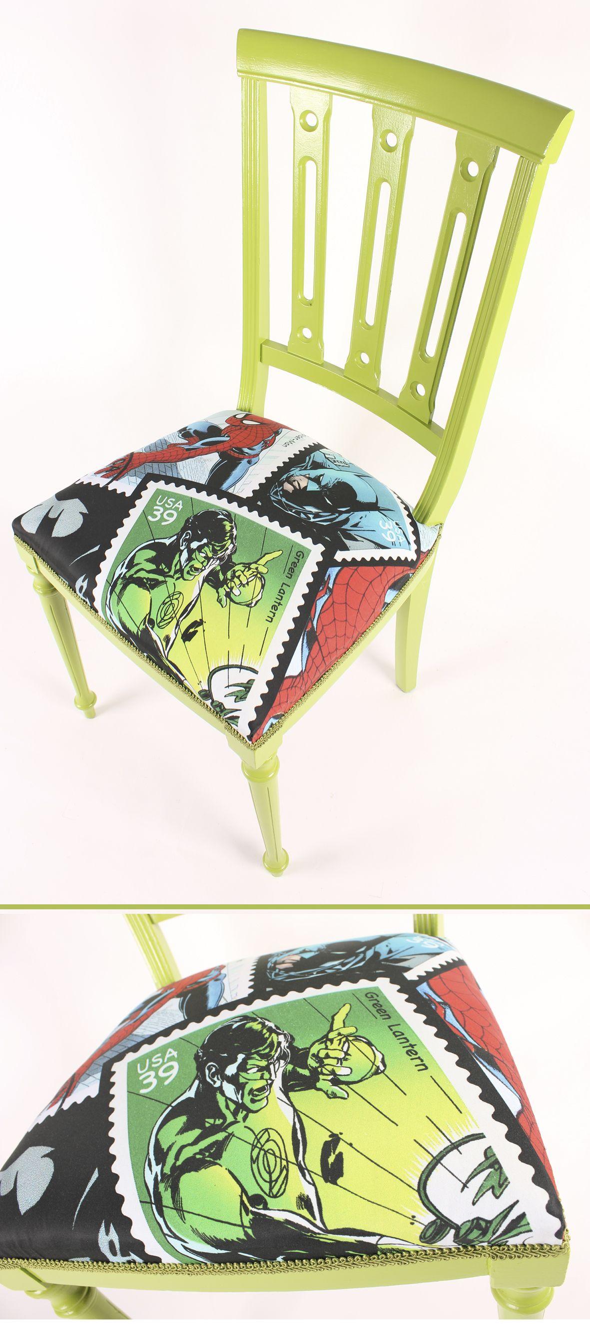 La Silla Perfecta Para Un Dormitorio Juvenil Lijado Y Pintado Y  # Muebles Lijados Y Pintados
