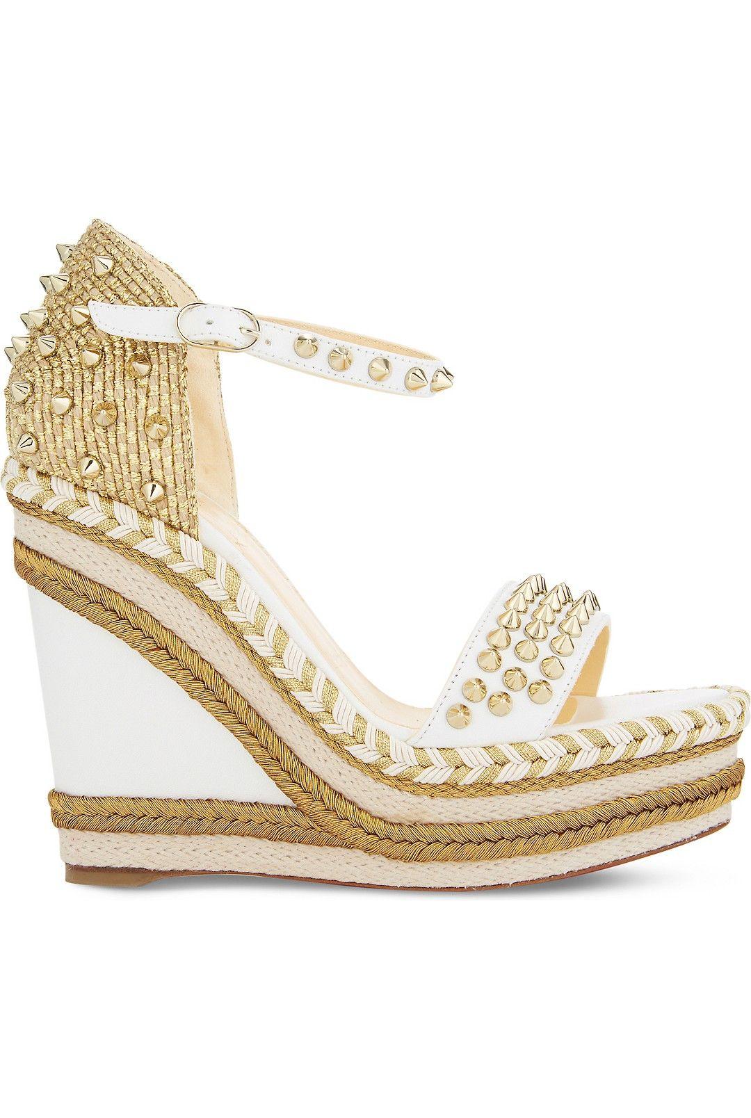c29e09f3dc5 CHRISTIAN LOUBOUTIN Madmonica 120 nappa shiny | Louboutin | Shoes ...