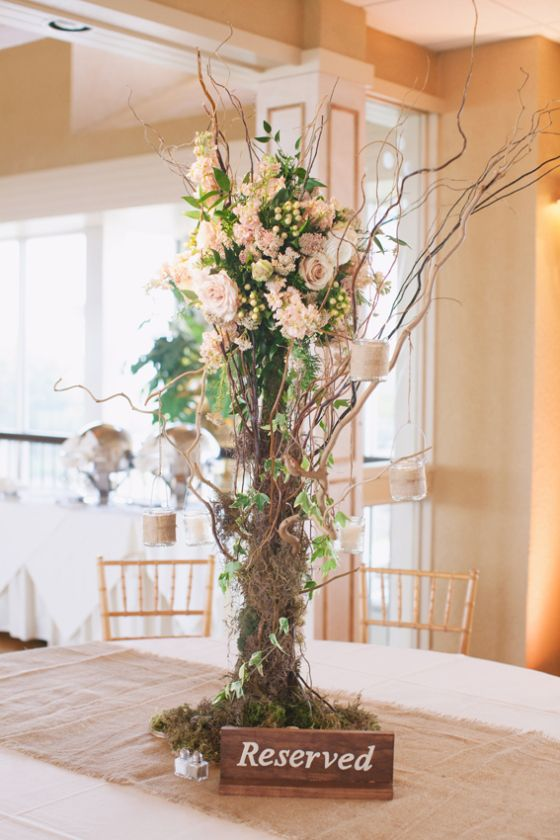 tall curly willow tree floral centerpieces www homesweetlifeblog com rh pinterest cl
