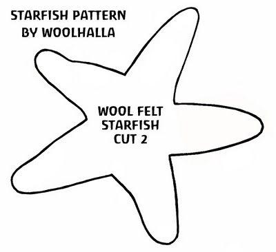 How To Make A Felt Starfish Natural Kids Team Disfraz Estrella De Mar Moldes De Estrellas Estrella De Mar