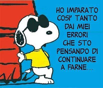 Frasi Famose Di Snoopy Cerca Con Google Citazioni Snoopy