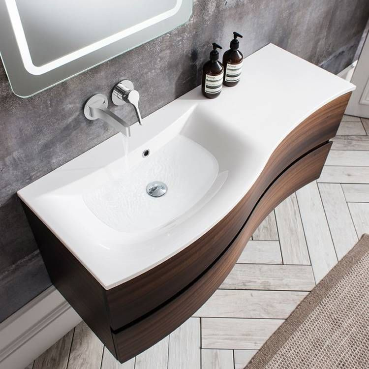 Bauhaus Svelte 120 Eucalyptus Vanity Unit & Basin Vanity