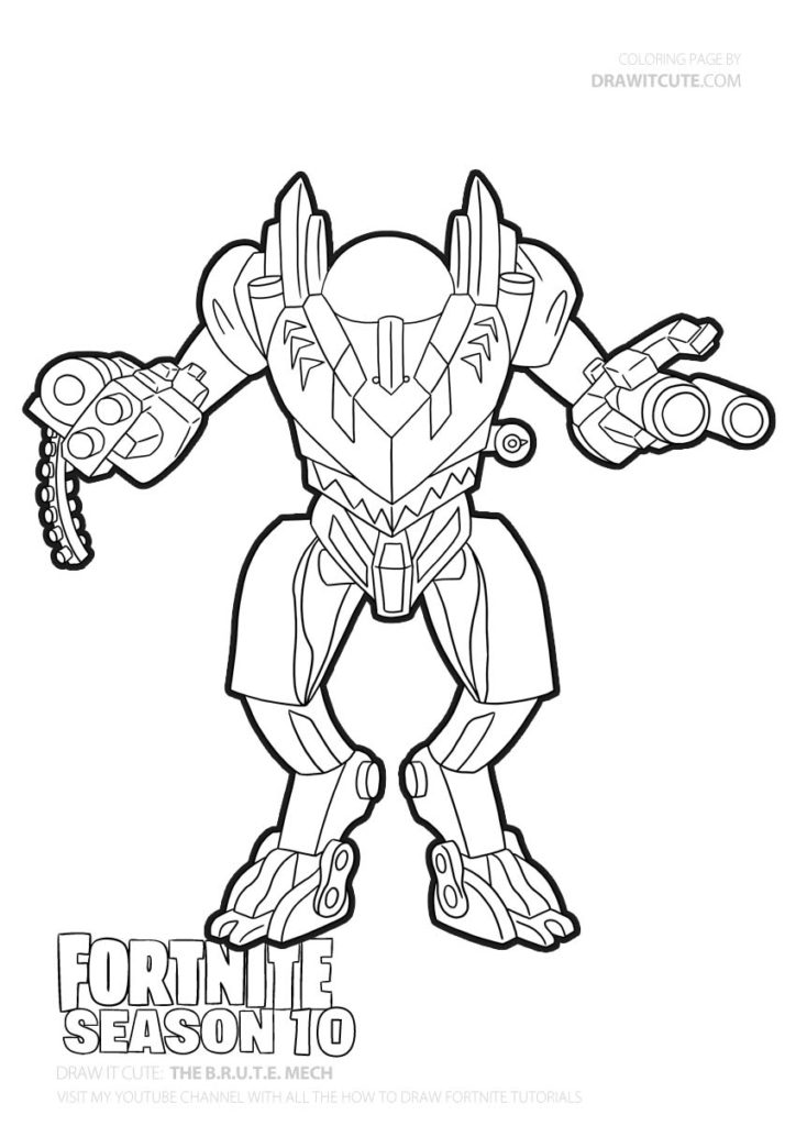 Pin By Keri Grabiec On Fortnite Coloring Pages Funny Easy Drawings Frozen Coloring Pages