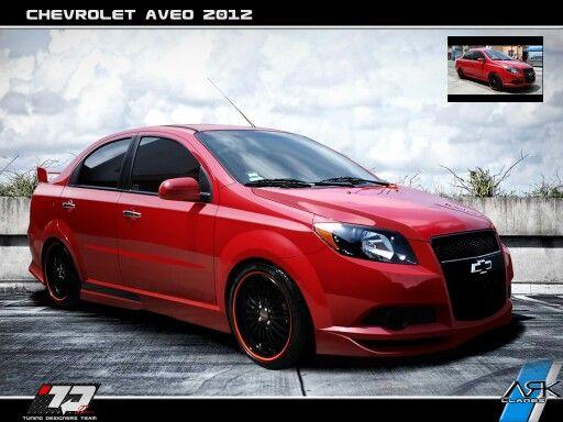 Chevrolet Aveo Color Rojooo Waooooo Autos Clasicos Autos