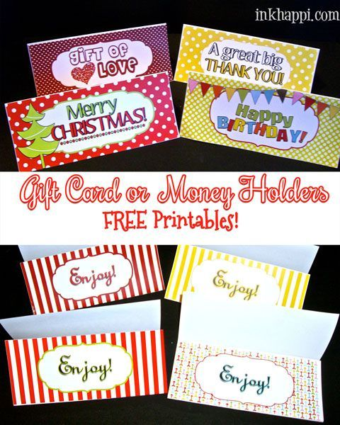 Last Minute Gift Ideas {with Free Printable (With Images