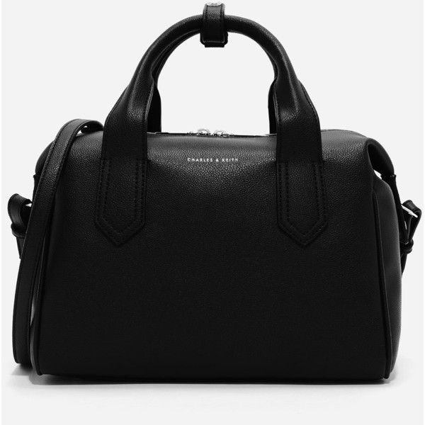 Charles Keith Soft Bowling Bag 100 Nzd Liked On Polyvore Featuring Bags