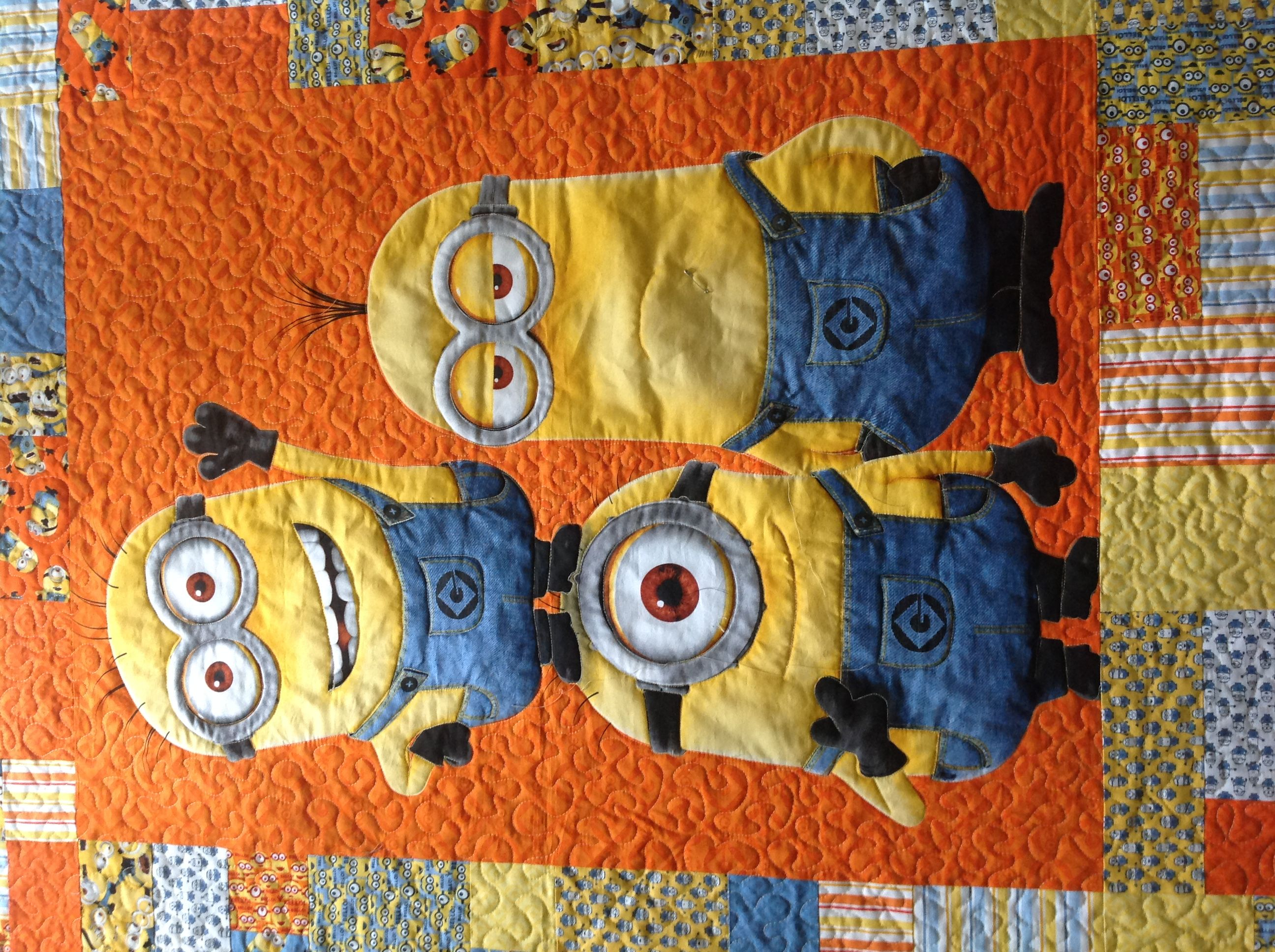 How to make a Minions quilt | quilts | Pinterest | Stitch ... : minion quilt - Adamdwight.com