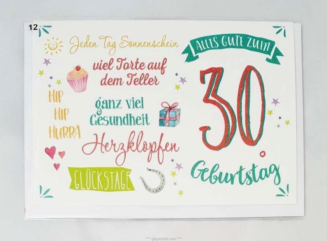 30 Geburtstag Bilder