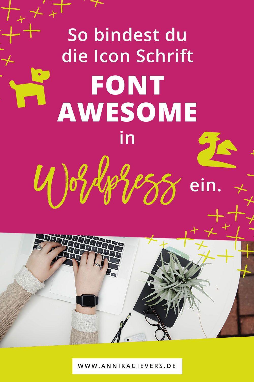 Font Awesome in WordPress installieren So geht's! Blog