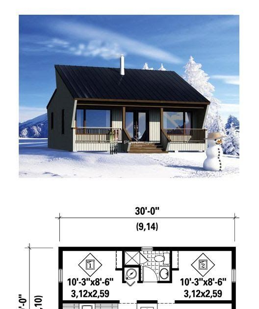 Tiny House And Blueprint  --- #tinyhouse