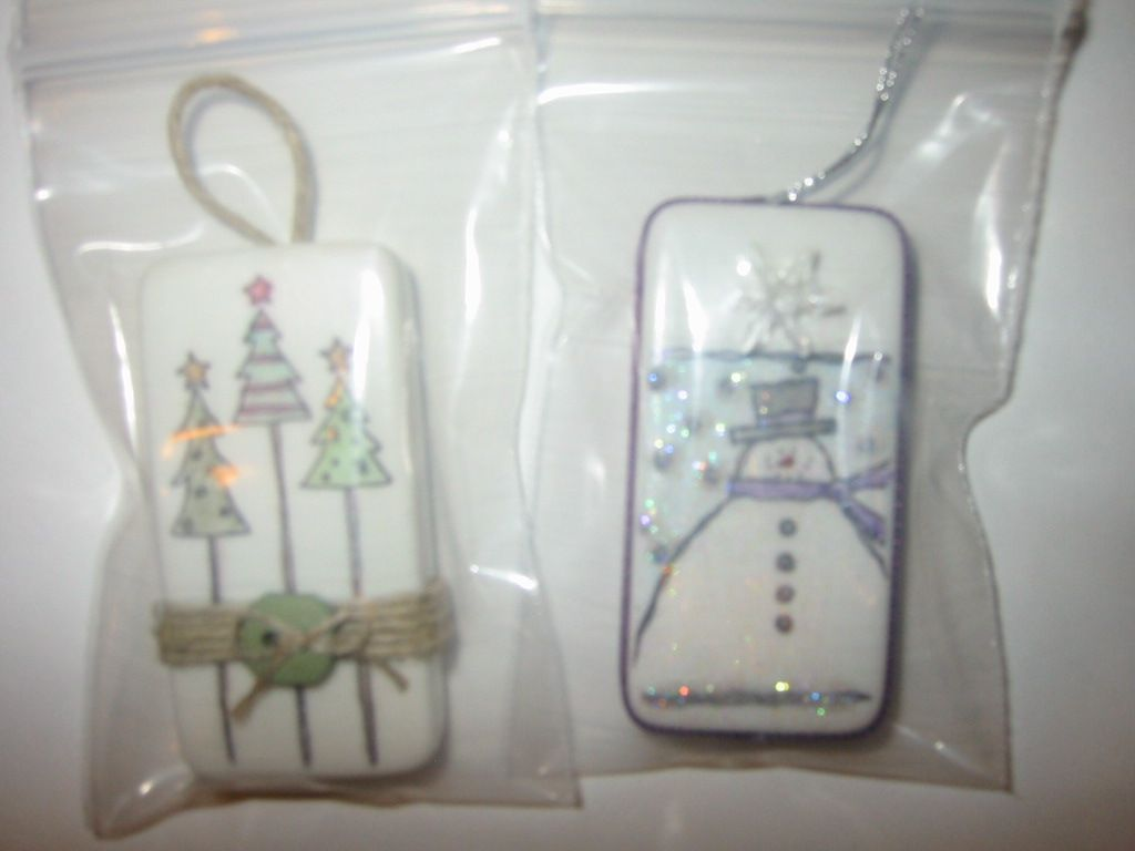 Use Dominos to make Christmas ornaments. www.lisacurcio.stampinup ...