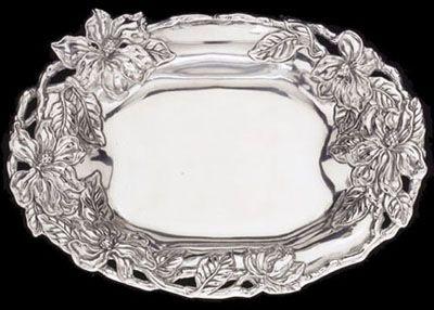 Magnolia oval tray