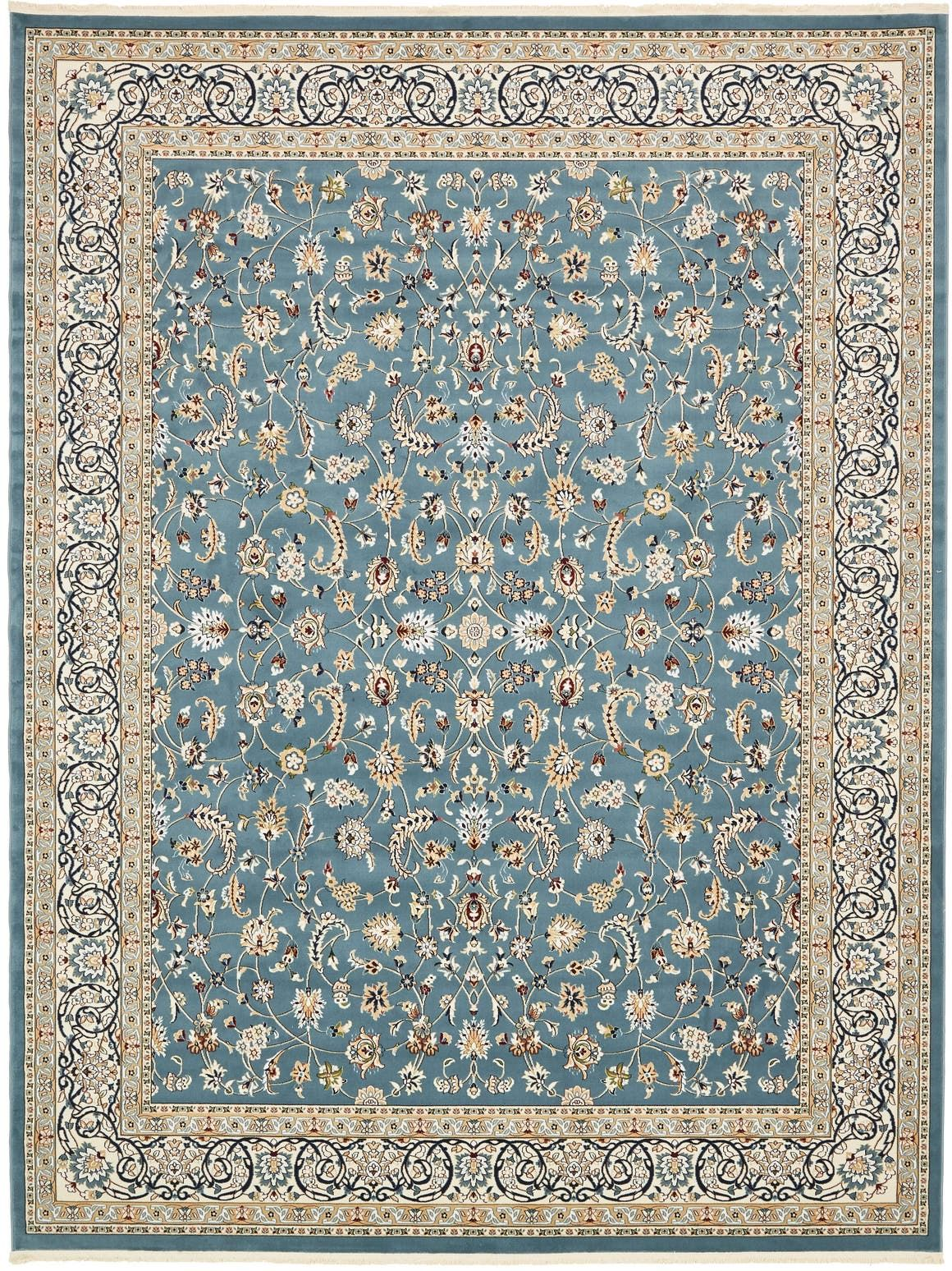 10 X 13 Nain Design Rug Main Image In 2020 Area Rugs Unique Loom Blue Area Rugs