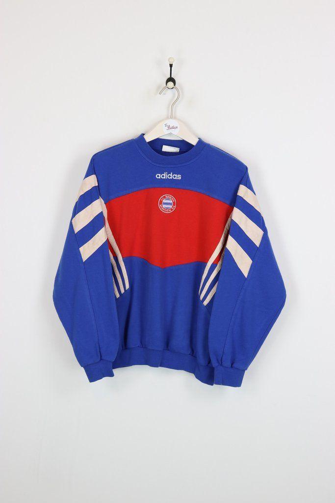 Adidas Bayern Munich Sweatshirt Medium  60429e75f