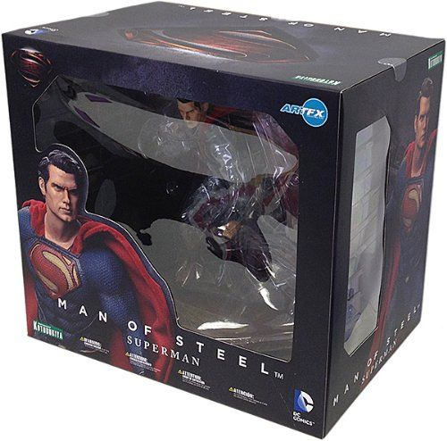 "Black Friday Kotobukiya Superman ""Man of Steel"" ArtFX Statue from Kotobukiya"