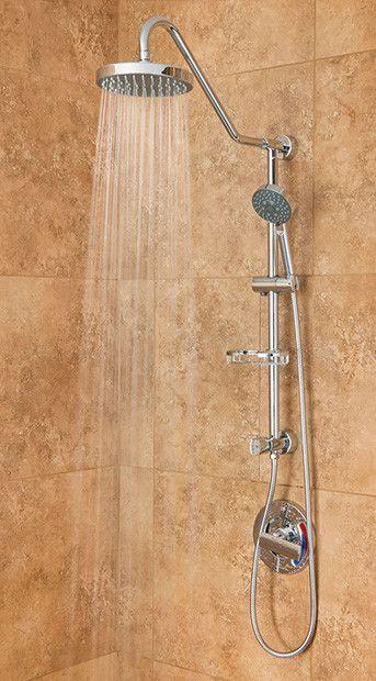 Pulse ShowerSpas Kauai III Shower System - Chrome | Pulse Shower ...