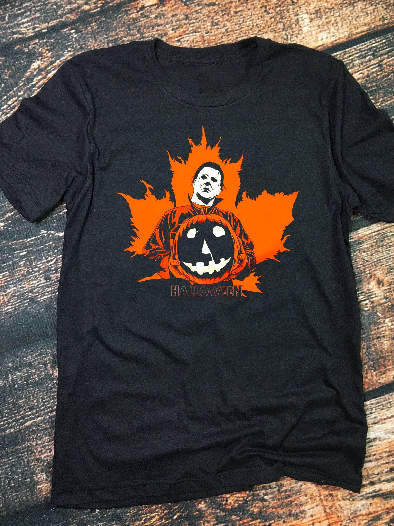 Michael Myers Halloween Pumpkin Unisex TShirt Michael