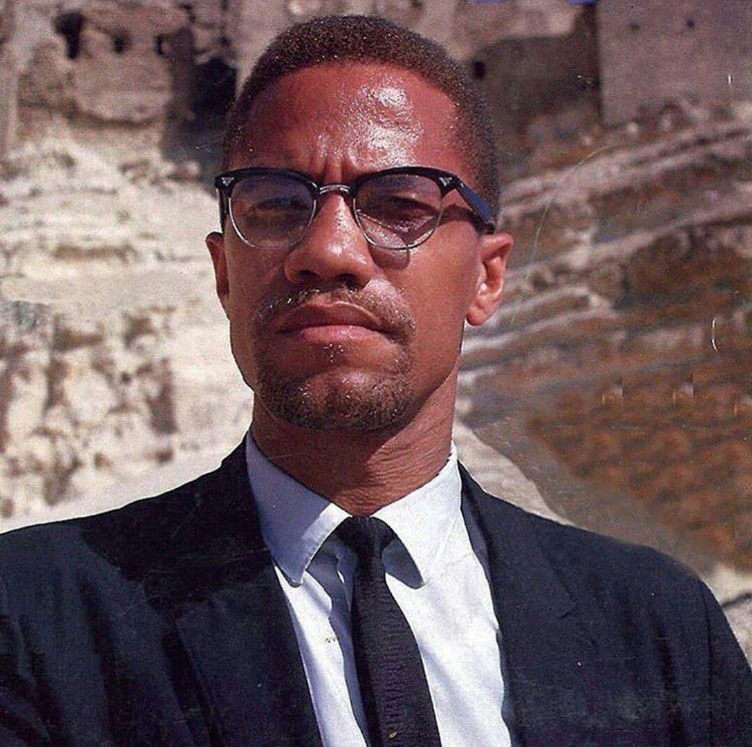 Happy 91st Birthday Malcolm X 5 19 1925 2 21 1965 Born Malcolm Little And Also Known As El Hajj Malik El Shab Black Culture Malcolm X Black History Facts