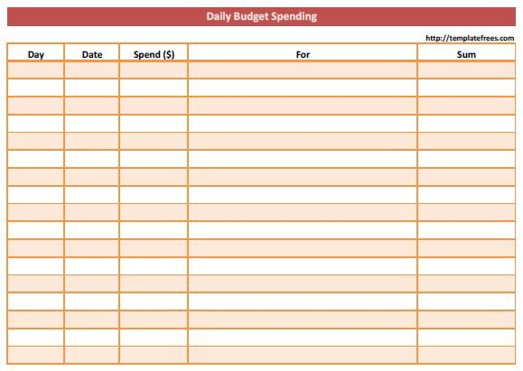 Printable Blank Expense Sheet  Google Search  Great Ideas