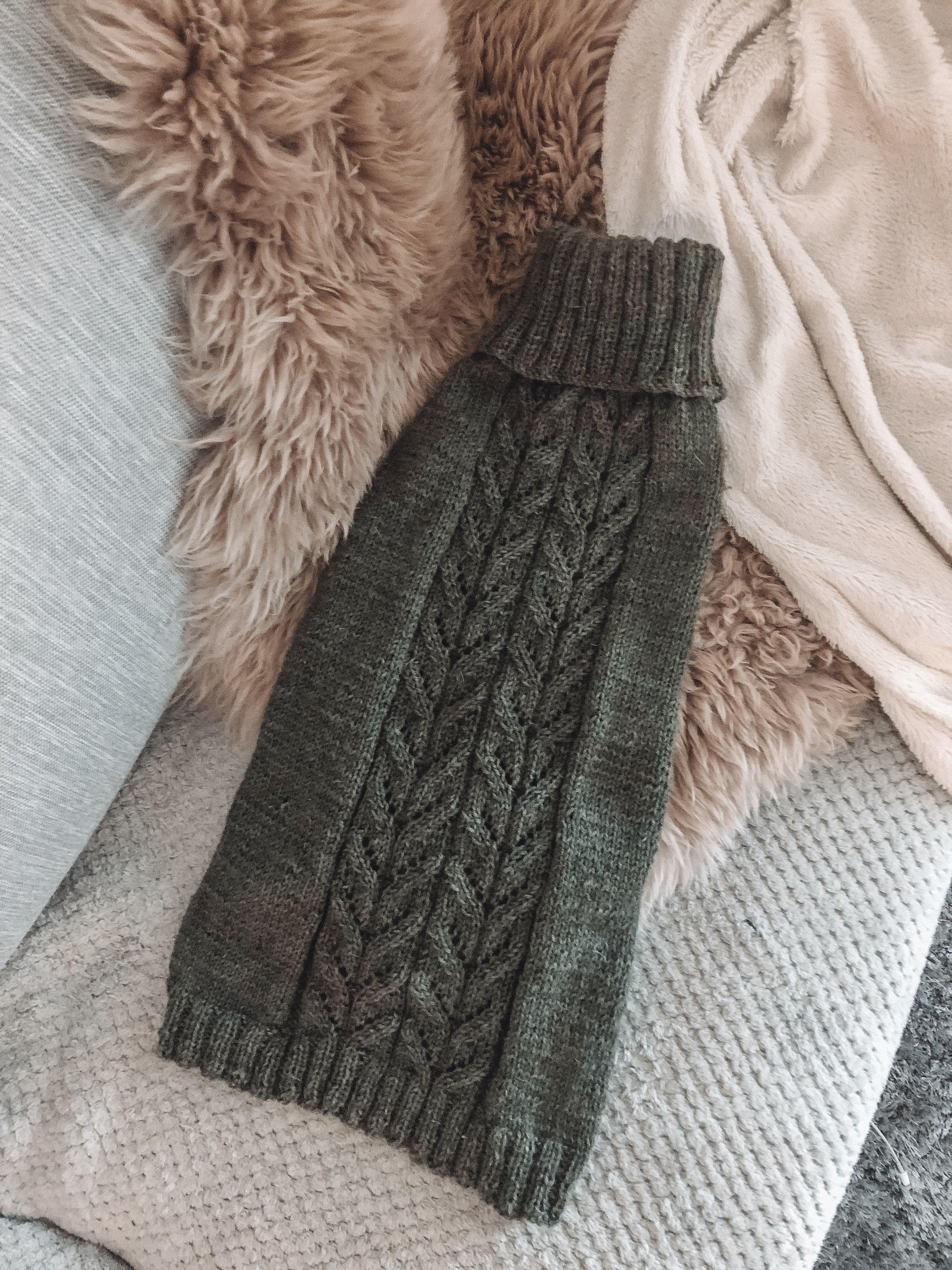 Koiran Villapaita Throw Blanket Blanket Handmade