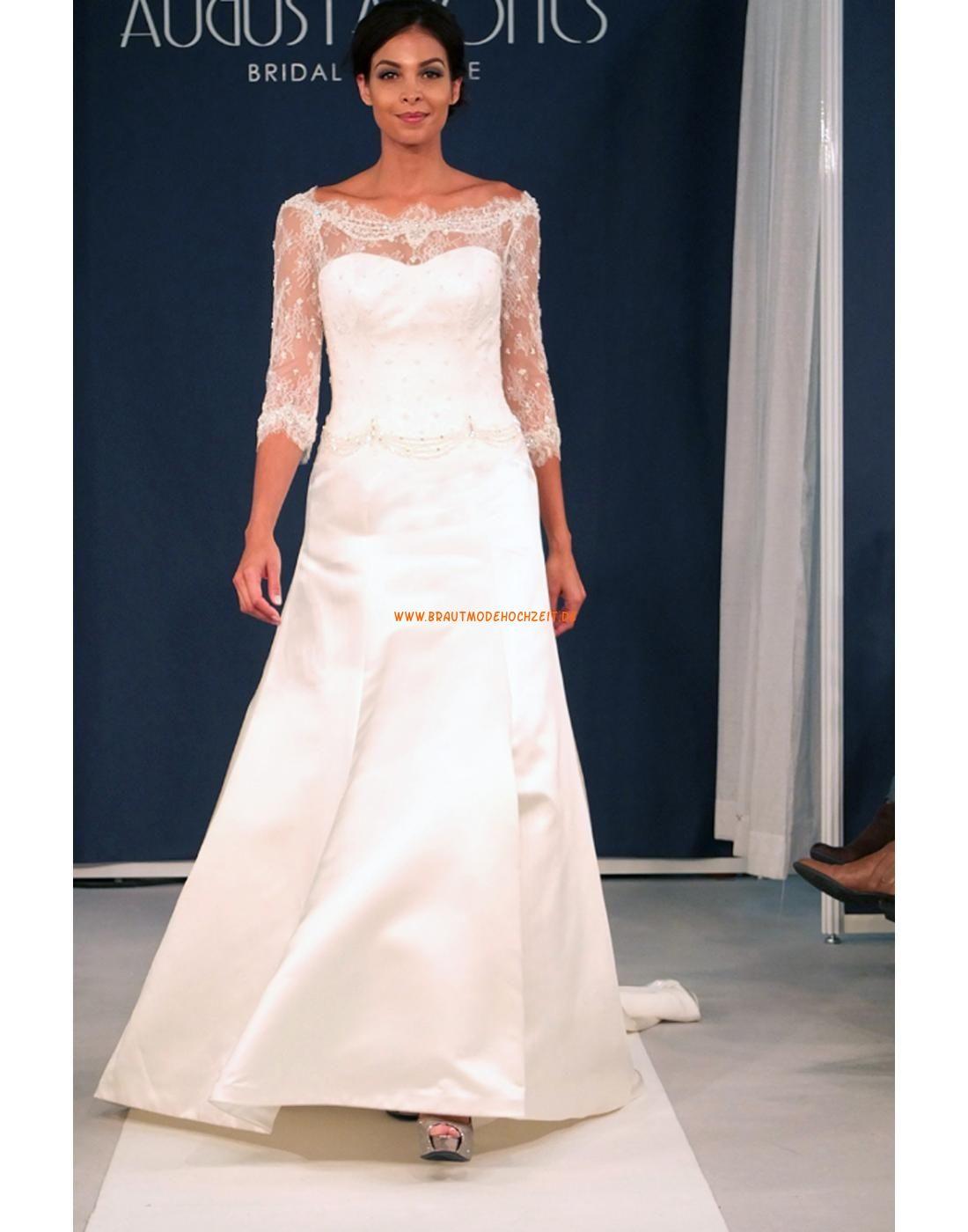 Günstige Designer Hochzeitskleider aus Taft | brautkleider Bayern ...