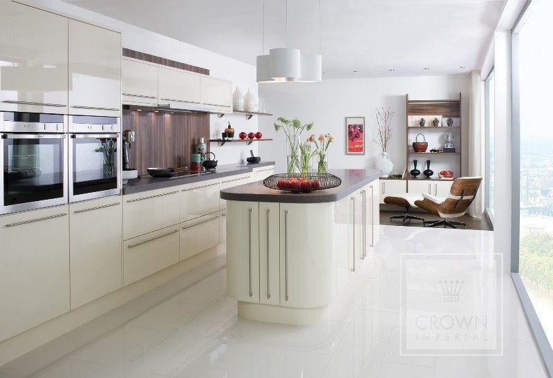 Kitchen Ideas Cream Gloss cream gloss kitchen | kitchen ideas | pinterest | cream gloss