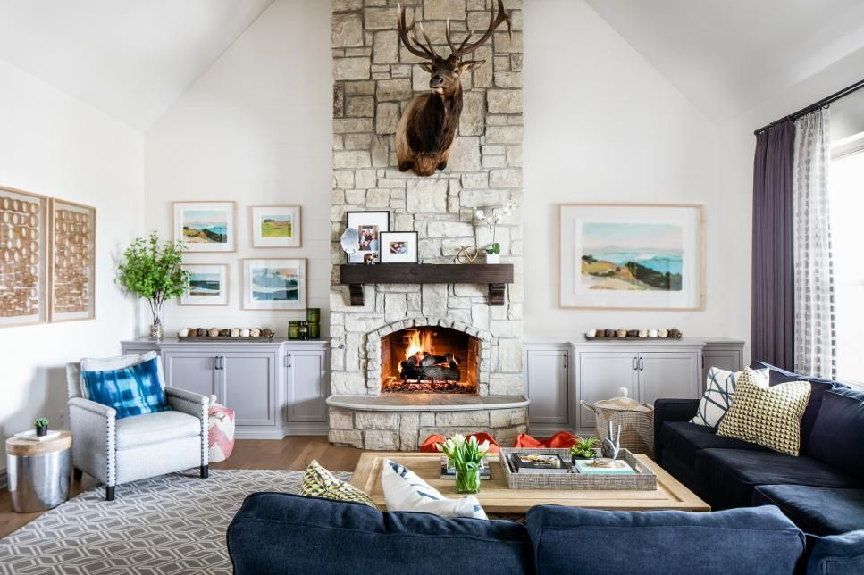 Before And After Living Room Renovations Hgtv In 2020 Living Room Makeover Livingroom Layout Room Makeover