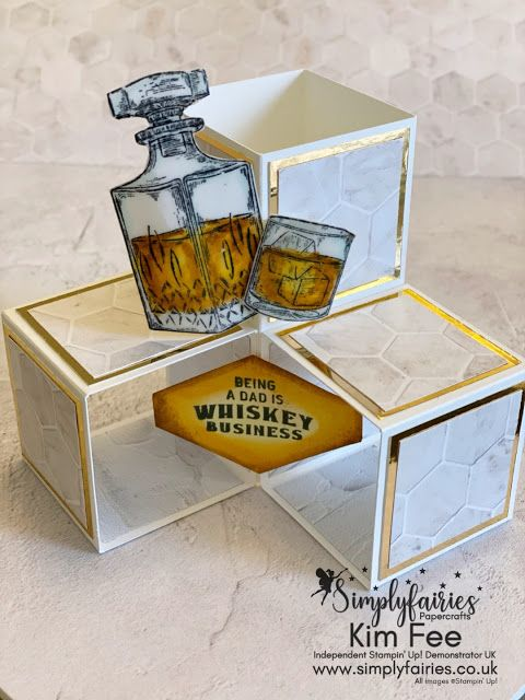 Photo of Whiskey Business, Wow Card Video, Stampin Up!