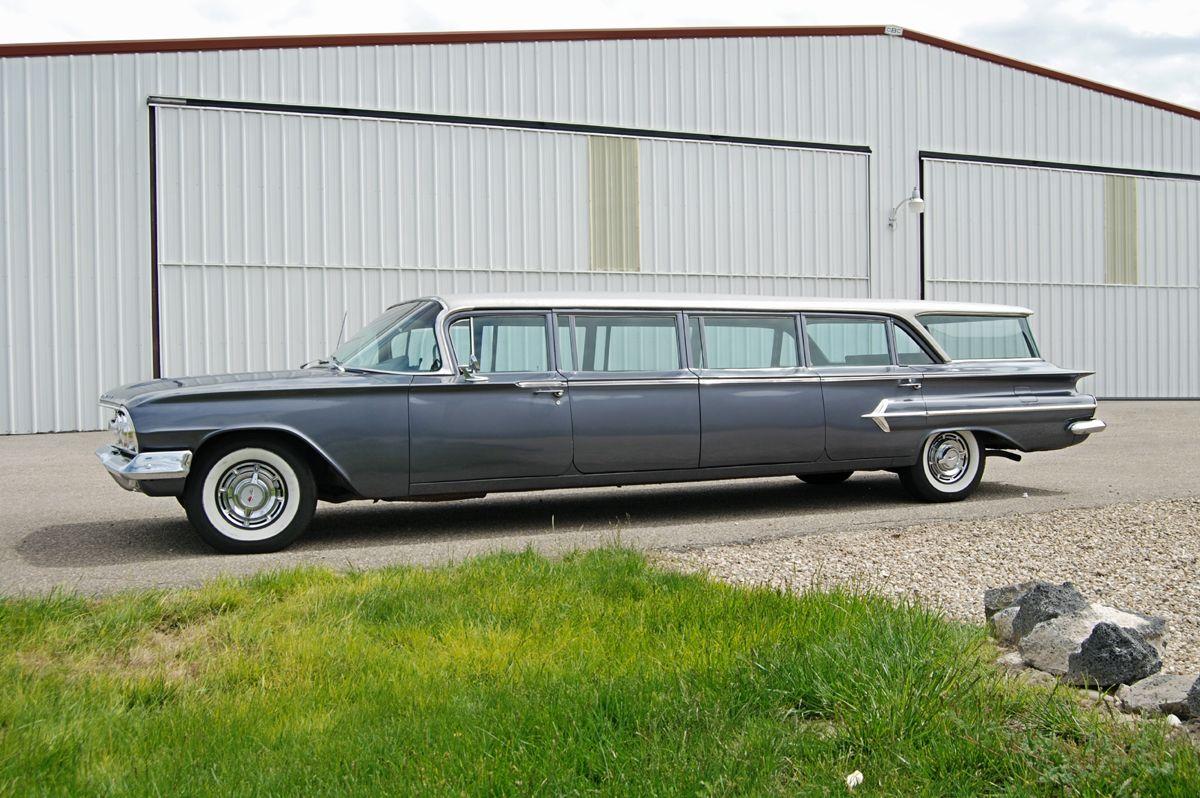 1960 chevrolet station wagon airport limo allen via. Black Bedroom Furniture Sets. Home Design Ideas