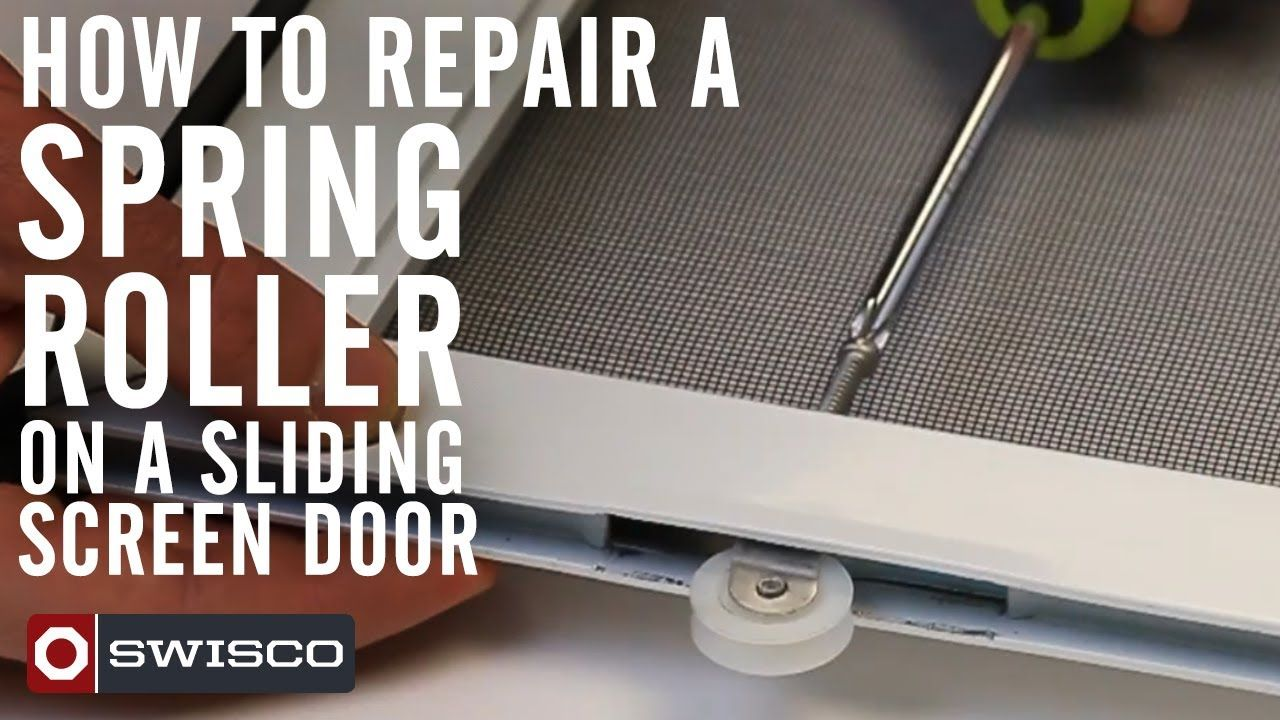 This Tutorial From Mike At SWISCO.COM Will Walk You Through The Procedure  Of Removing · Sliding Screen DoorsHome ...