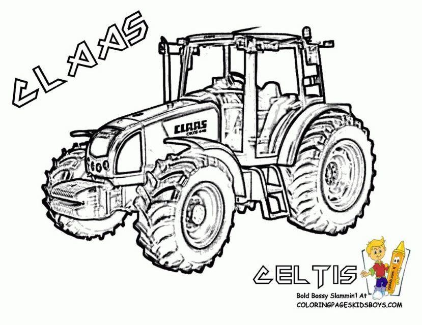 Cool Coloriage Tracteur A Imprimer Gratuit Coloriage Tracteur