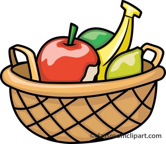 fruits basket clipart clipart panda free clipart images rh pinterest com fruit bouquet clipart fruit basket clipart outline