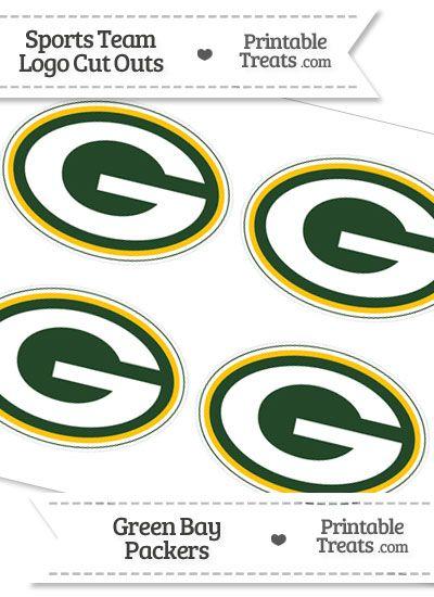Green Bay Packers Logo Vector : green, packers, vector, Football, Cheer, Printables