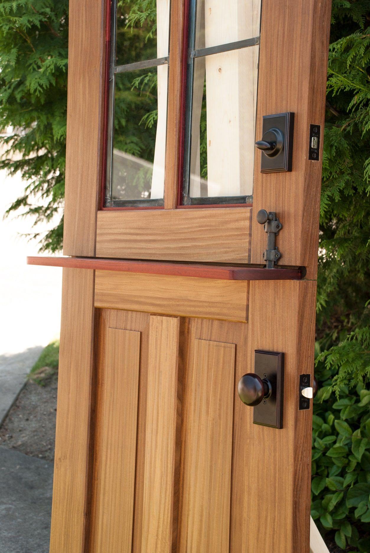 Dutch Door From Real Carriage Door U0026 Sliding Hardware.