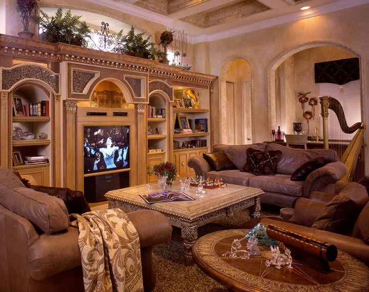 camera de familie cu tv