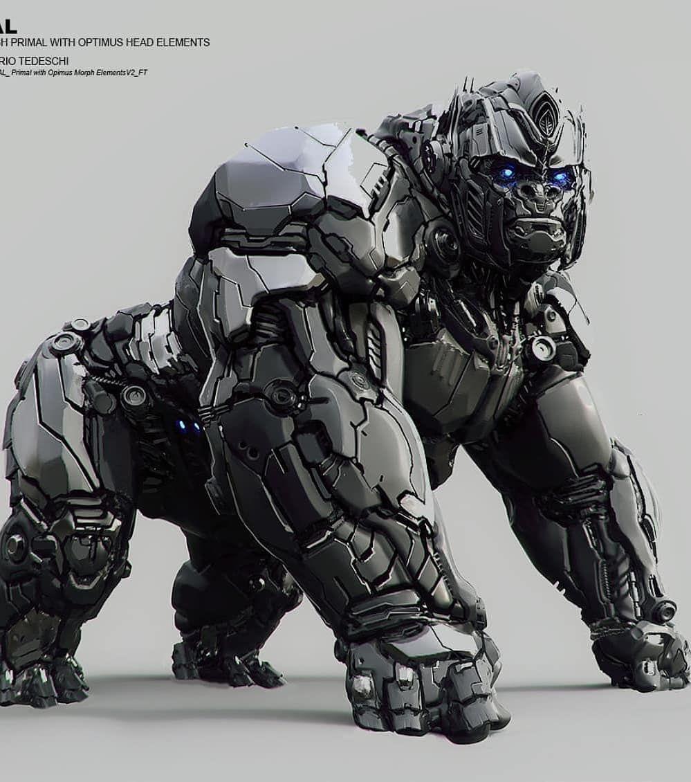 Optimus Primal (Transformers Beast Wars Animated Series