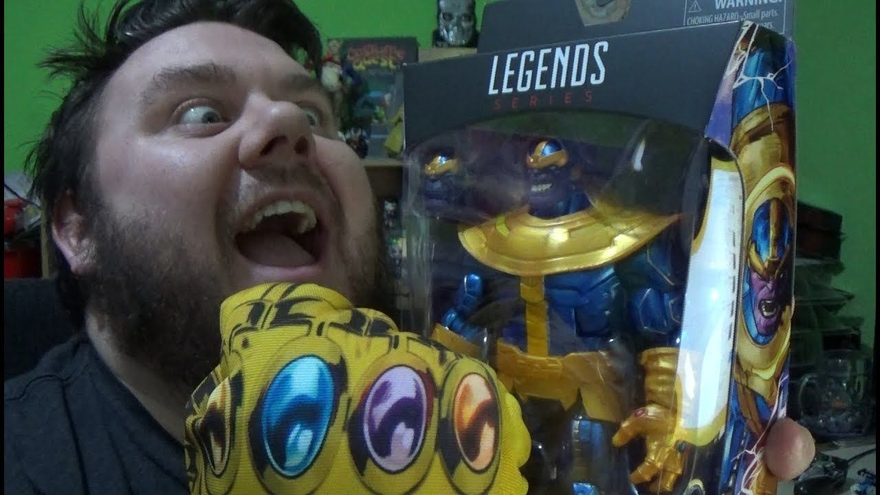 Marvel Legends Thanos Walmart Exclusive Infinity War with
