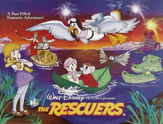 Disney Fun /& fancy free cult cartoon movie poster print