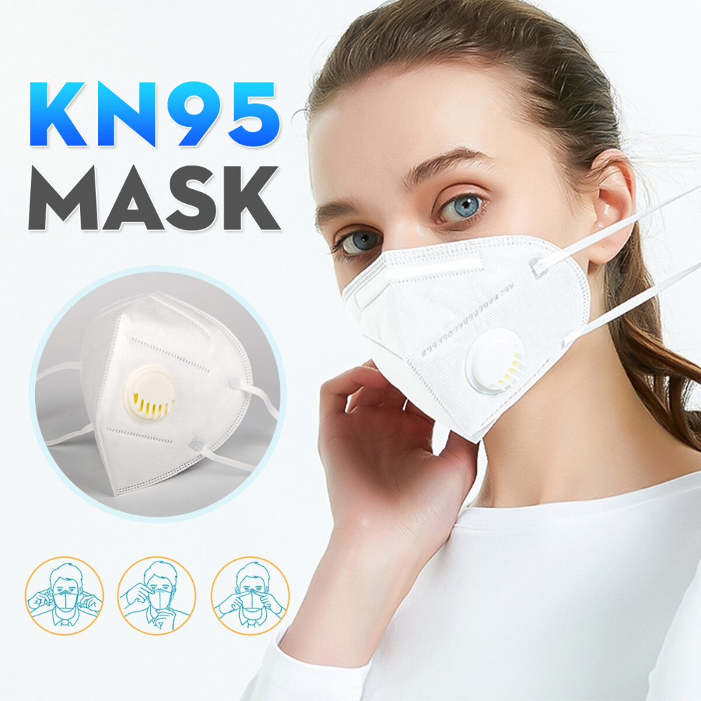 KN95 Masks With breathing valve Passed The GB2626KN95