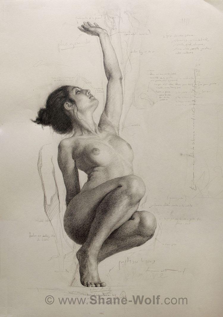 Tempest, étude | Dibujo | Pinterest | Mujeres en el arte, La mujer y ...