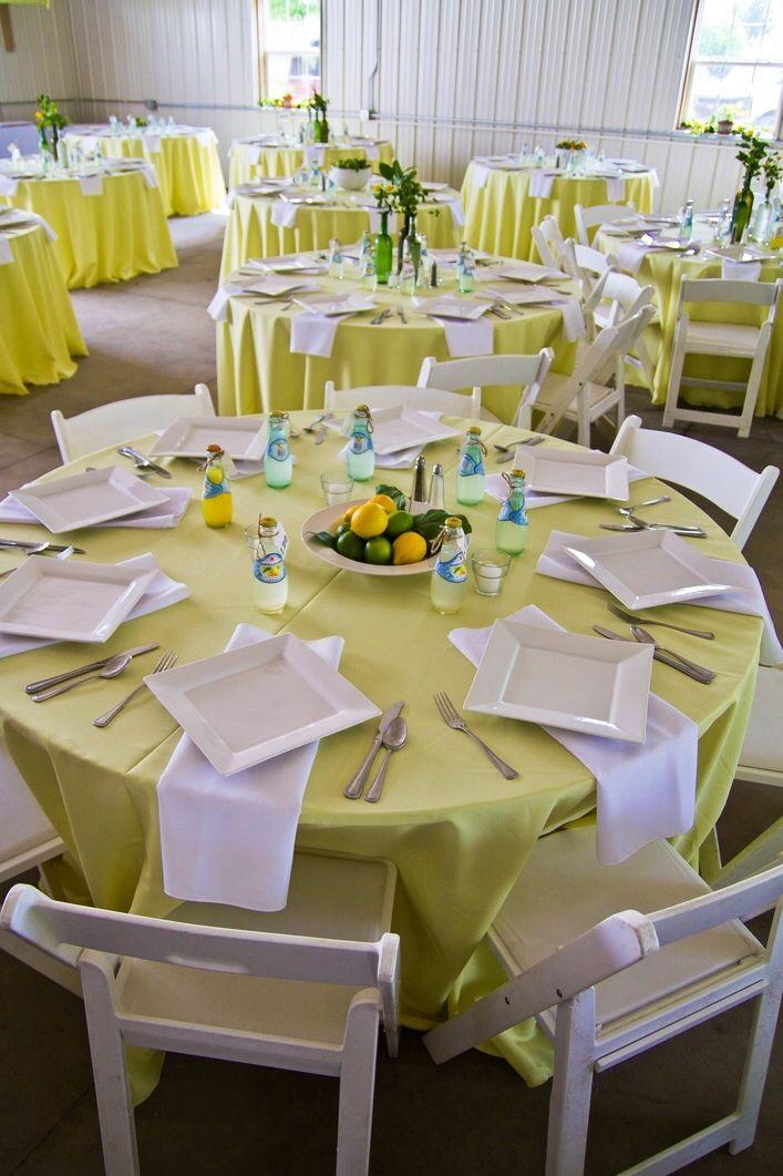 Hlo tips montaje para desayuno utilizando el concepto c tricos en los colores centro de mesa - Mesas de desayuno ...